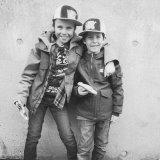 Theo og Louis i Metzingen