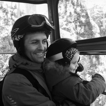 Far og Elli i kabineliften