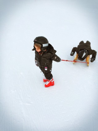 Ellinor & Louis at Enstligen Alp, Switzerland